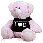 Pink Bear soft toy
