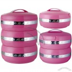 Pink Houses Multi-storey Insulated Food Containers