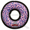 Pink Leopard Ring Dog Toy