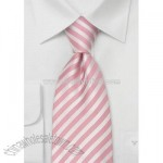 Pink Neckties Modern Striped Pink Tie