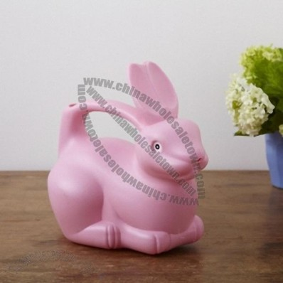 Pink Rabbit Watering Can