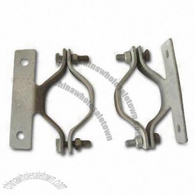 Pipe Clamp, Hot-dip Galvanizing with Bolt, Nut and Washer