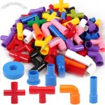 Pipe Puzzle - Water Pipe Plug Match Building Blocks