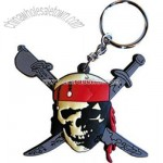 Pirates of the Caribbean Skull Keychain & Keyring
