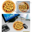 Pizza Design Mouse Pad