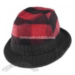 Plaid Attack Fedora hat