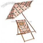 Plaid Beach Umbrella