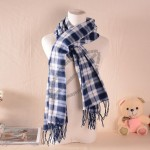 Plaid Cashmere Scarf To Keep Warm