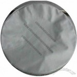 Plain Gray Vinyl tire cover