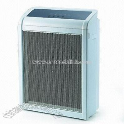 Plasma Air Purifier with UV and TiO2 Germicidal Features