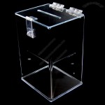 Plastic Acrylic Ballot Box, Suggestion Box