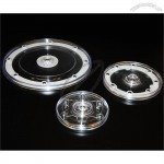 Plastic Acrylic Revolving Display Bases Turntables