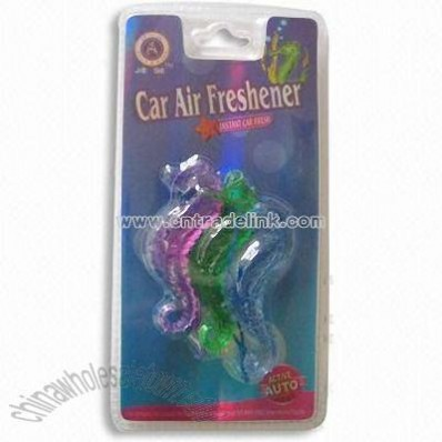 Plastic Air Freshener with Vivid Design