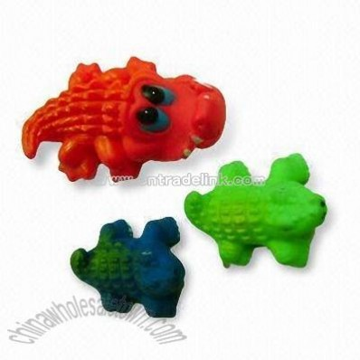 Plastic Bath Set in Dinosaur Shape