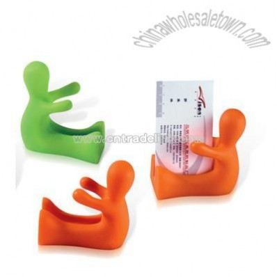 Plastic Cartoon Business Card Holder