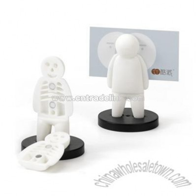 Plastic Cartoon Message Holder