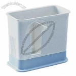 Plastic Chopstick Box for Holding Chopsticks and Ceramic Spoons, with Suction Cup