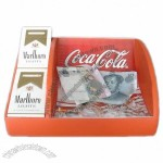 Plastic Cigarette and Cash Tray