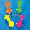 Plastic Collapsing Puppet Key Chains