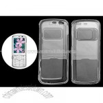 Plastic Crystal Clear Case Cover for Nokia N79