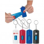 Plastic Doggie Bag Dispenser Keychain