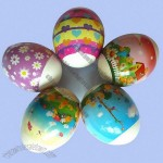 Plastic Easter Egg Stickers