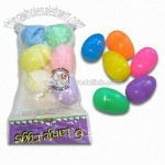 Plastic Eggs in Vivid Colors