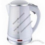 Plastic Electric Kettle with Boil Dry Protection