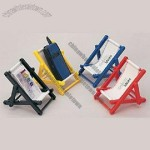 Plastic Frame Mini Beach Chair Holder