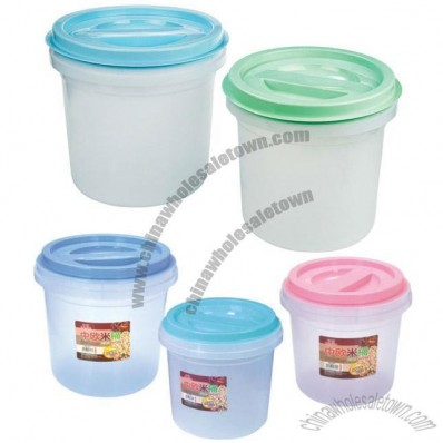 Plastic Grain Storage Container
