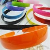 Plastic Hair Band with Smooth Surface