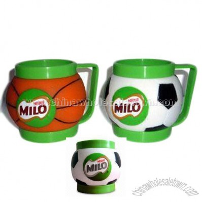 Plastic Ice Cream Mugs