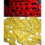 Plastic Link Chains with 3, 4, 6, 8, 10 and 12mm Diameter