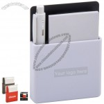 Plastic Notepad Holder with Pen