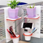 Plastic Office Desktop Hanging Shelves