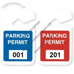 Plastic Parking Permit 3