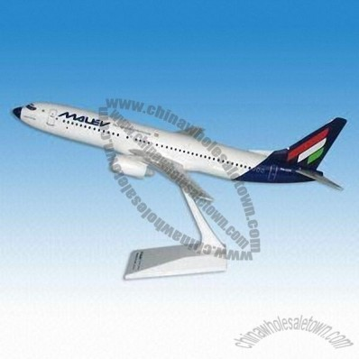 Plastic Passenger Airplane Model