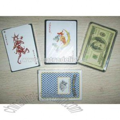 Plastic Playing Cards