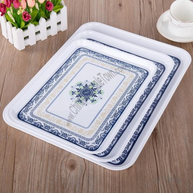 Plastic Rectangle Fruit Tray