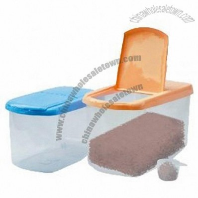 Plastic Rice Container, Storage Boxes