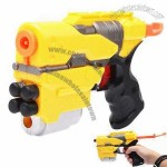 Plastic Shooting Gun Toy