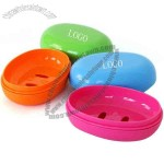 Plastic Soap Case And Dish