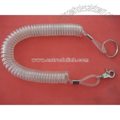 Plastic Spring with Steel Wire