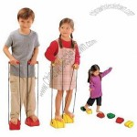 Plastic Stepping Block Toys With Adjustable Rope