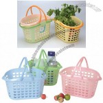 Plastic Storage Basket, Shopping Basket