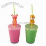 Plastic Straw Cup