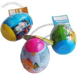 Plastic Surprise Candy Egg Toys