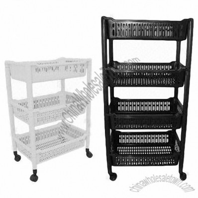 Plastic Tier Jumbo Storage Racks