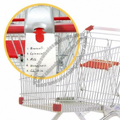 Plastic Trolley Coins with Memo holder