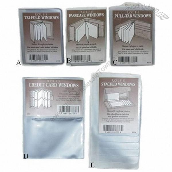 Wallet photo insert cards for Wholesale replacement windows